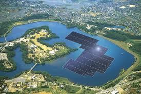 Япония строит самую крупную солнечную электростанцию на воде